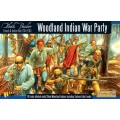 French Indian War 1754-1763: Woodland Indians War Party 2
