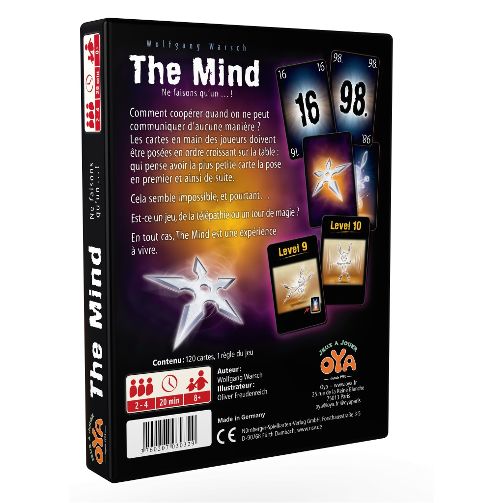 The Mind - Playing Cards - Board Game 2c9b3eef9d4