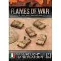 L6/40 Light Tank Platoon 0