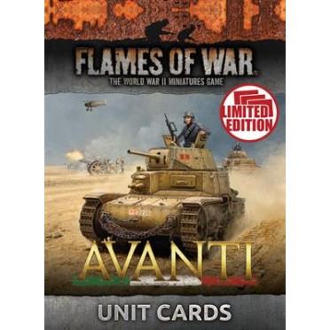 Avanti Unit Cards