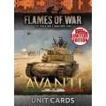 Avanti Unit Cards 0
