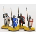 Crusading Foot Knights (Open Helms) (Standing) 0