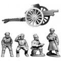 Bolshevik Field Gun and Crew 0