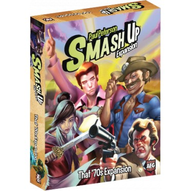 Smash Up - That 70s Expansion