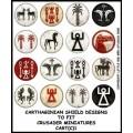 Carthaginian shield Designs 1 (Crusader) 0