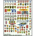 15mm Medieval Pennants, Barding and Shields 0