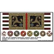 Dark Age Celt Banner and Shields (Gripping Beast)