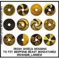 Irish Shield Designs 2 (Gripping Beast) 0
