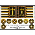 El Cid Spanish Banner and Shield Designs (Gripping Beast) 0