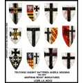 Teutonic Knight Battered Shield Designs (Gripping Beast) 0