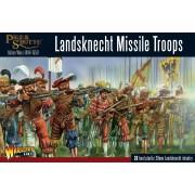 Pike & Schotte - Landsknecht missile troops