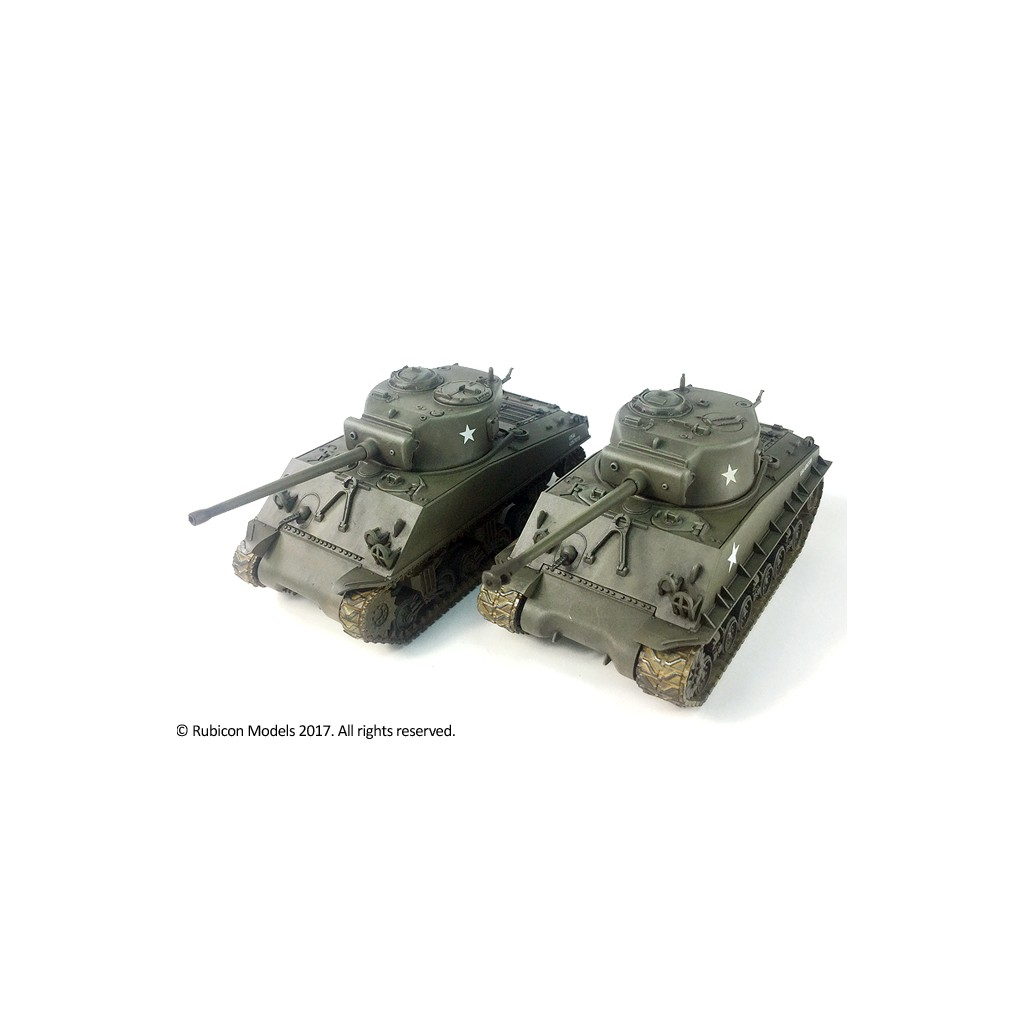 Buy M4A3/M4A3E8 Sherman - Board Game - Rubicon Models