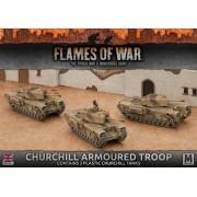 Churchill Armoured Troop (Plastic) (copie)