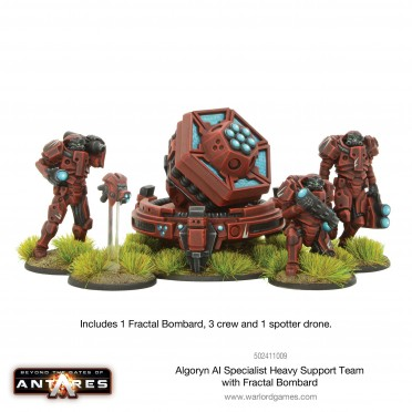 Antares - Algoryn AI Specialist Heavy Support Team with Fractal Bombard