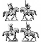 Chinese Cavalry in Fur Caps