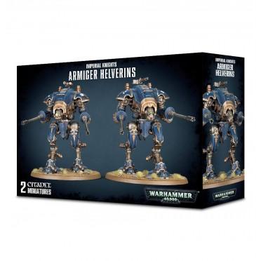 W40K : Imperial Knights - Armiger Helverins