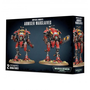 W40K : Imperial Knights - Armiger Glaives