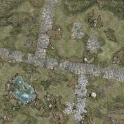 Playmats - Mousepad - Treasure Island - 48''x48''