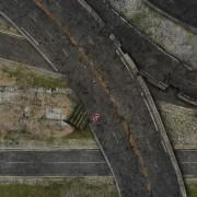 Playmats - Mousepad - Abandonned Road - 36''x36''
