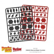 2000AD Red and Black Counters