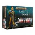 Citadel : Peinture - Warhammer Age of Sigmar Paint + Tools Set 0