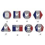 Team Yankee - French Token Set