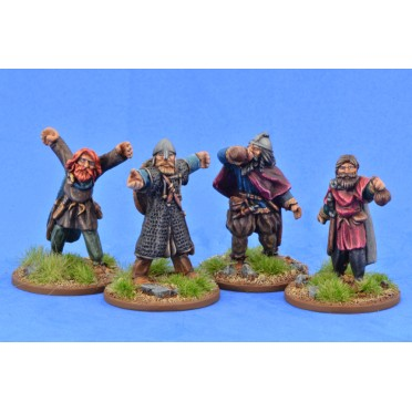 Saga - Civils et bétails - Vikings festoyants