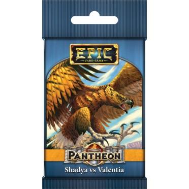 Epic Card Game - Pantheon Elder Gods : Shadya vs Valentia