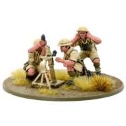 Bolt Action - British 8th Army Medium Mortar Team