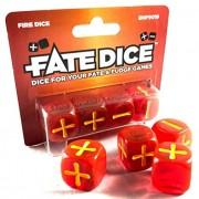 Fate Dice - Fire