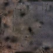 Playmats - Mousepad - Ruined City - 36''x36''