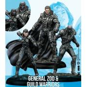 DC Universe - General Zod & Guild Warriors