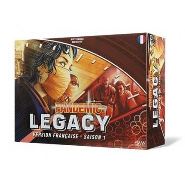 Pandemic Legacy - Saison 1 - Boite Rouge