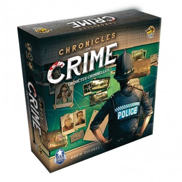 Buy Chronicles Of Crime Board Game Lucky Duck Games