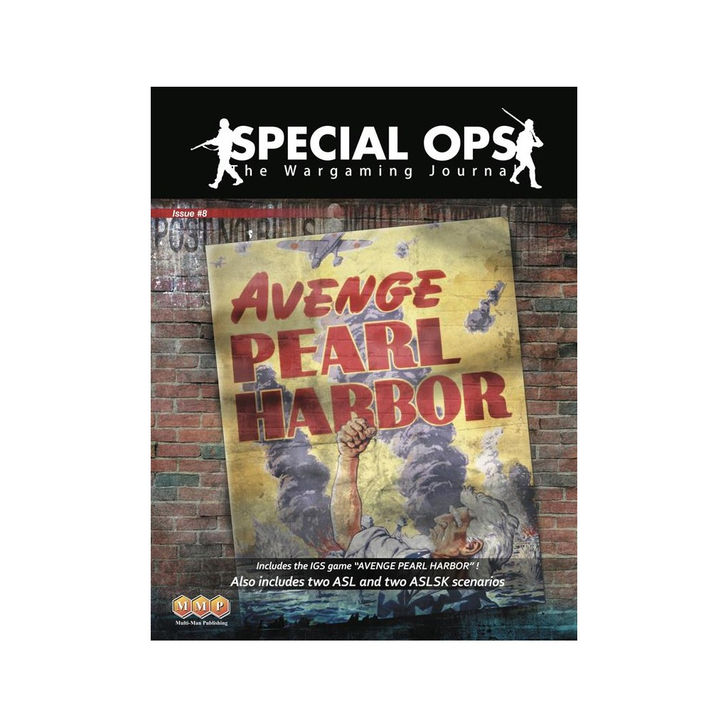 Buy Special Ops 8 Avenge Pearl Harbor Board Game