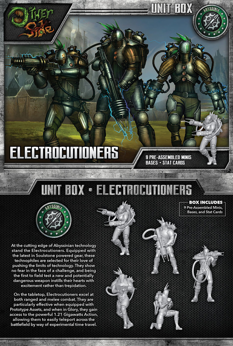 The Other Side - Abyssinia Unit Box - The Electrocutioners