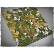 Terrain Mat PVC - Aerial Field 120x120