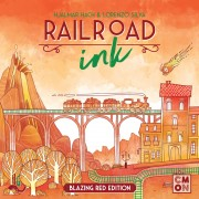 Railroad Ink: Blazing Red Edition pas cher