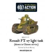 Bolt Action - French - Renault FT-17 Light Tank