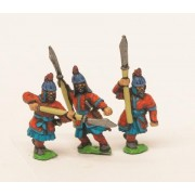 Late 16th Century Korean: Heavy Infantry with Halberds
