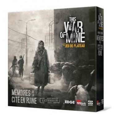 This War of Mine : le Jeu de Plateau - Mémoires de la Cité en Ruine