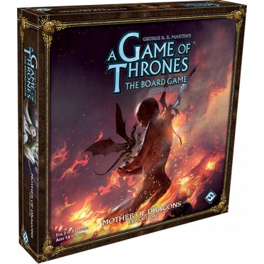 A Game of Thrones - The Boardgame - Mother of Dragons Expansion