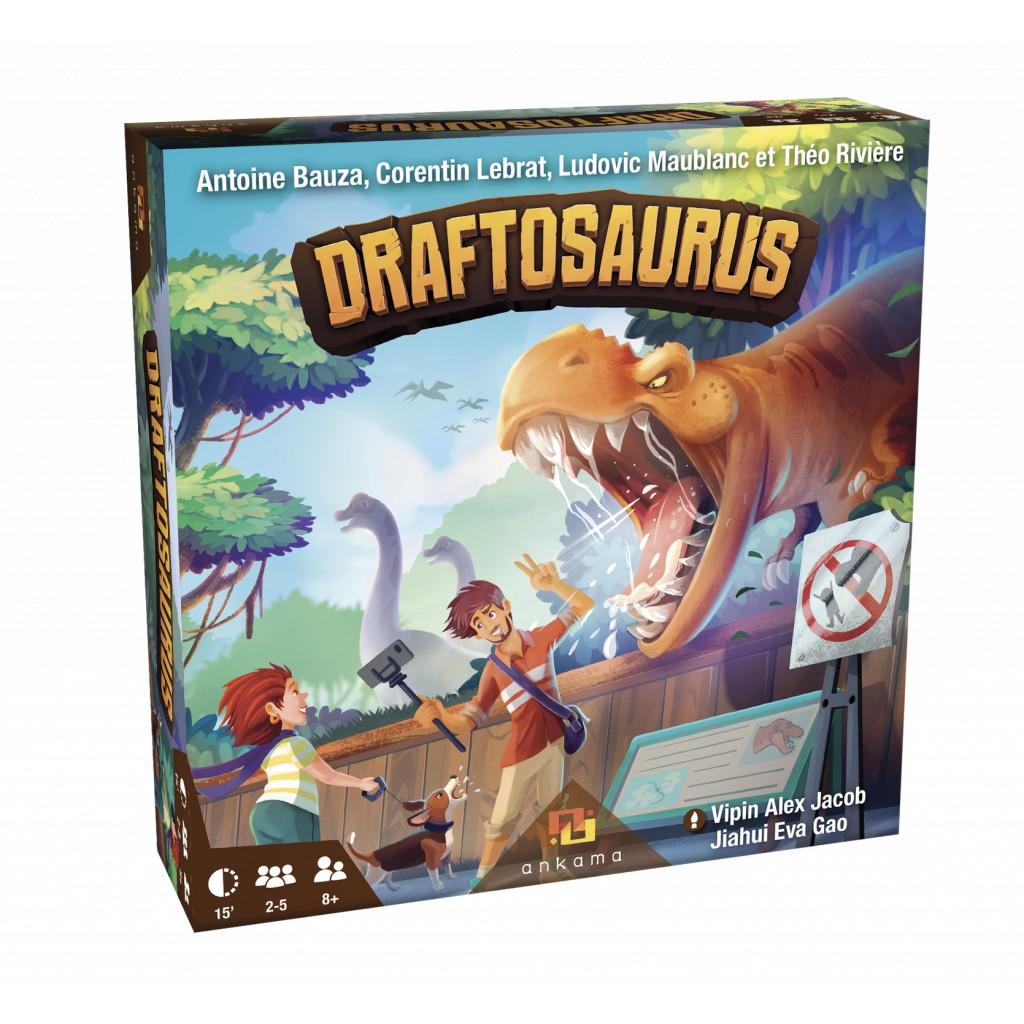 Acheter Draftosaurus - Jeu de société - Ankama