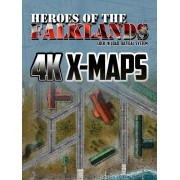 Heroes of the Falklands - 4K X-Maps