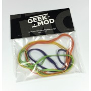 Colored Rubber bands set