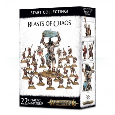 Age of Sigmar : Start Collecting - Beasts of Chaos