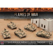 Flames of War: Sherman Armoured Troop