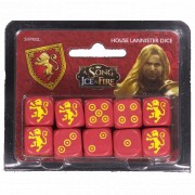 A Song of Ice and Fire - House Lannister Dice