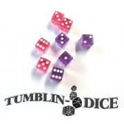 Tumblin-Dice - Dés Rose Violet