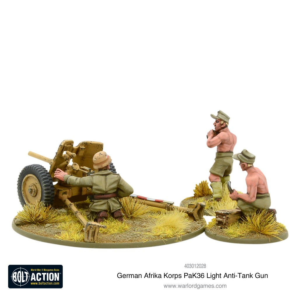 Buy Bolt Action - German - Afrika Korps Pak 36 Light Anti-Tank Gun